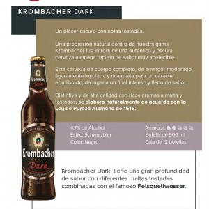 Krombacher Dark Ficha técnica