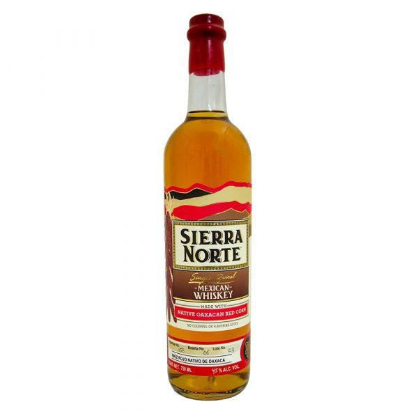 Whiskey_Oaxaqueño_Sierra_Norte_Maíz Rojo