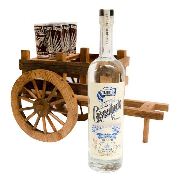 Tequila_Cascahuin_Blanco_Tahona_Carreta_Mader