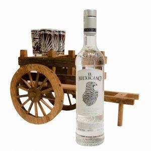 Tequila_El_Mexicano_Blanco_Carreta_Madera
