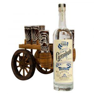 Tequila_Cascahuin_Blanco_Tahona_Carreta_Madera_2