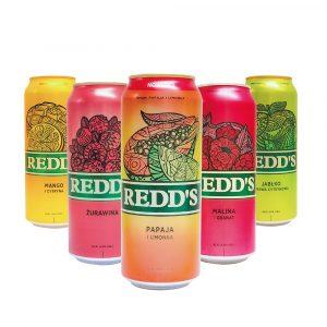 Combo_Cervezas Afrutadas_Redds_Surtido