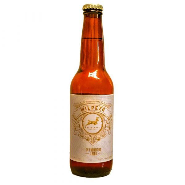 Cerveza_Cola_Blanca_Milpeza_Lager