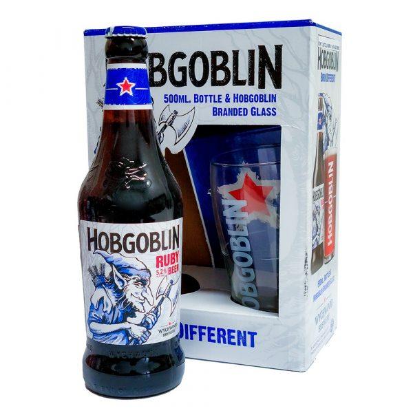 Cerveza_Wychwood_Hobgoblin_Ruby_Pack_Con_Vaso